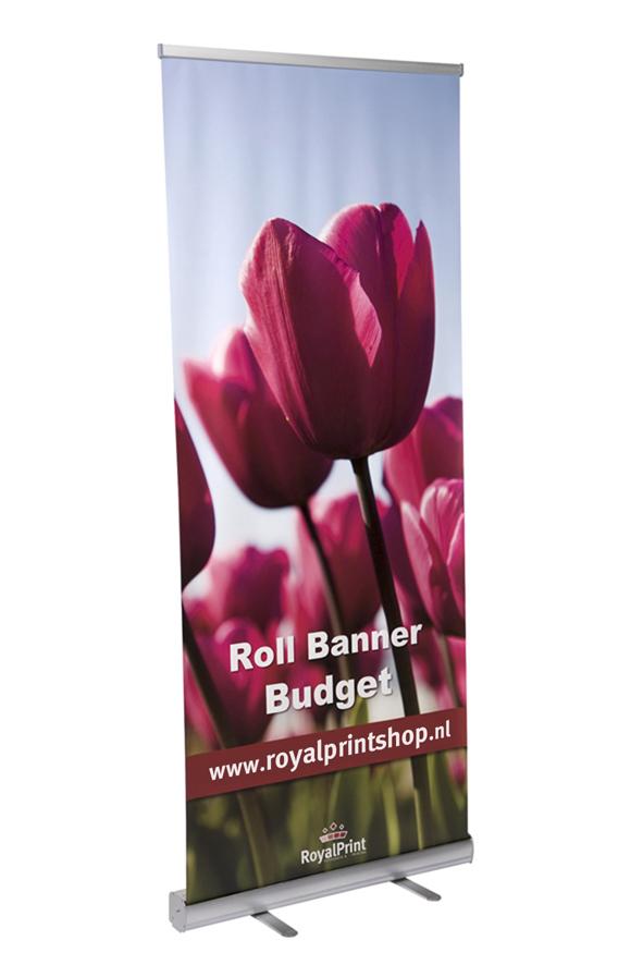 Bannersystemen - Rollbanner budget