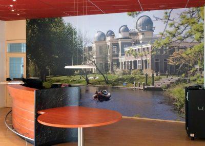 fotobehang Leiden
