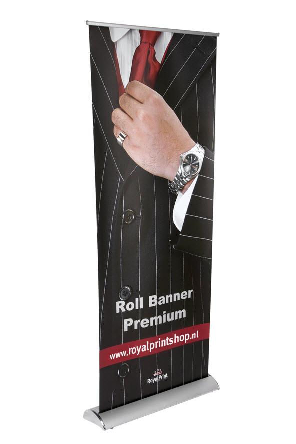 Bannersystemen - Rollbanner premium